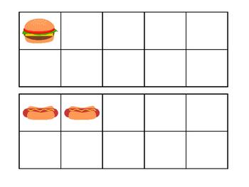 Food Write the Room-Numbers