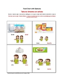 Food and Activity Chart English and Spanish- (Ingles y Espanol)