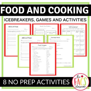 Food and Cooking Icebreaker Activities