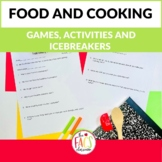 Food and Cooking Icebreaker Activities
