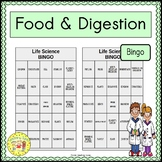 Food and Digestion BINGO