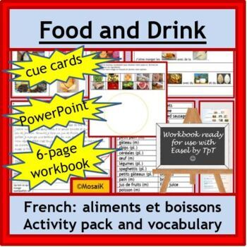 French Immersion or Core French: nourriture, aliments, food + vocab