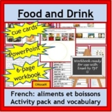French Immersion or Core French: nourriture, aliments, foo