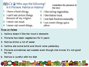 Food and Drink / Meals / Diet / Using negatives