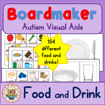 Food and Drink Pack - Boardmaker Visual Aids for Autism