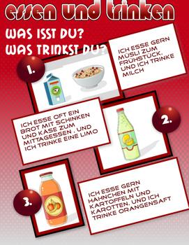 Food and Drink in  Germany - Essen und Trinken