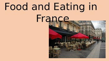 Food and Eating inn France