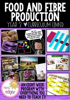 Food and Fibre | Year 3/4
