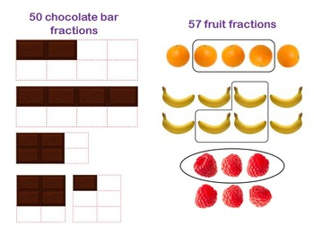 Food and Fruit Fraction Clip Art