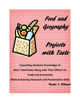 Food and Geography: Projects with Taste