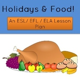 Food and Holidays Lesson Plan