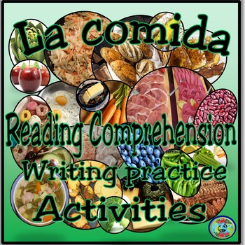 Food and Meals Reading Comprehension Activities