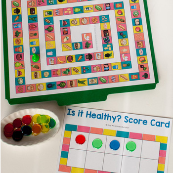Food and Nutrition Activity Pack for Preschoolers