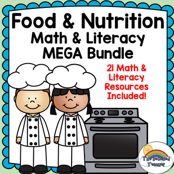 Food and Nutrition Math and Literacy MEGA Bundle