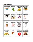 Food and Nutrition Human Bingo