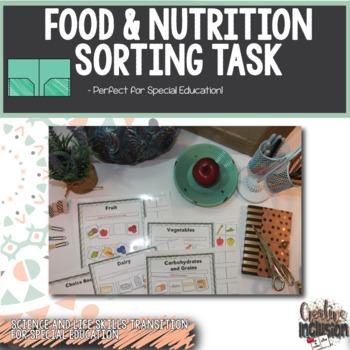 Food and Nutrition- No - Prep Printable!