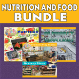 Food and Nutrition Picture Puzzle Printables & Pretend Pla