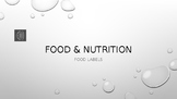 Food and Nutrition PowerPoint Presentation with Audio