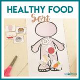 Food and Nutrition Preschool Activity - Food Sort