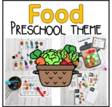 Food and Nutrition Preschool Pack