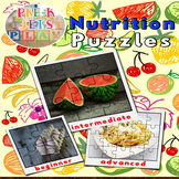 Food and Nutrition | Picture Puzzle Printables | Fine Moto