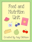 Food and Nutrition Unit: Being a Healthy Eater