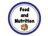 Food and Nutrition Word Wall