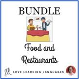 Food and Restaurants ESL BUNDLE