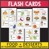 Food and Sweets Flash Cards