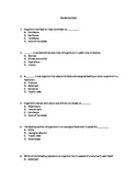 Food chains and webs Vocabulary Quiz