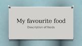 Food description