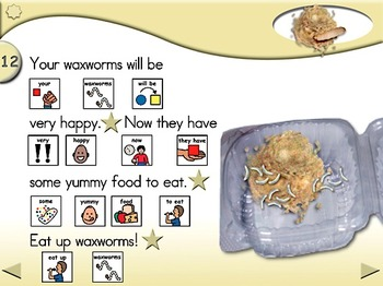 Food for Your Waxworms - Animated Step-by-Step Recipe PCS