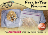 Food for Your Waxworms - Animated Step-by-Step Recipe - PCS