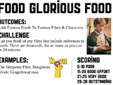 Food glorious food game