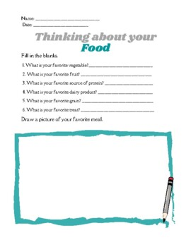 Food groups: Food Pyramid, Food Plate, Information, Worksheets by ...