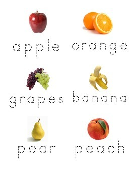 Food groups, fruit and vegetables pack