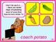 Food idioms. Guessing game.