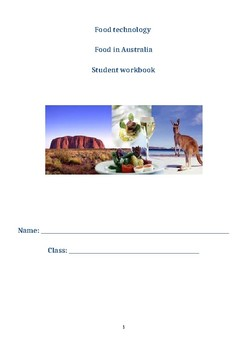 Food in Australia - Complete Workbook