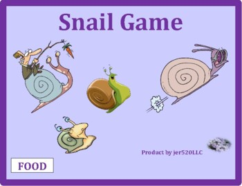 Food in English Snail game