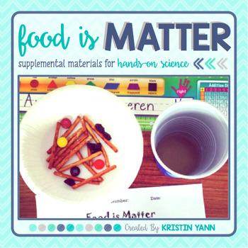 Physical Properties of Matter - Food is Matter!