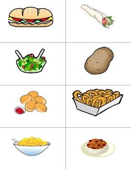 Food labels Editable in Google Slides