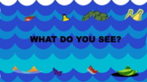 Food lost at sea- Green screen activity with core words (category: food)