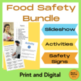 Food safety bundle for food handling and kitchen safety - Metric version