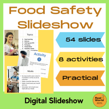 Food safety bundle for food handling and kitchen safety - Imperial USA version