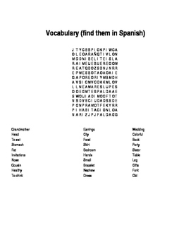 Food short story, wordsearch and unscramble words