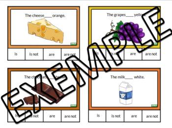 Food task cards