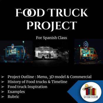 Food truck project for Spanish class