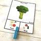 Food v Drink Sorting Categories Task Cards