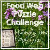 Food web Puzzle Challenge