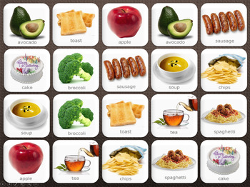 Foods 1- Computer Memory Game